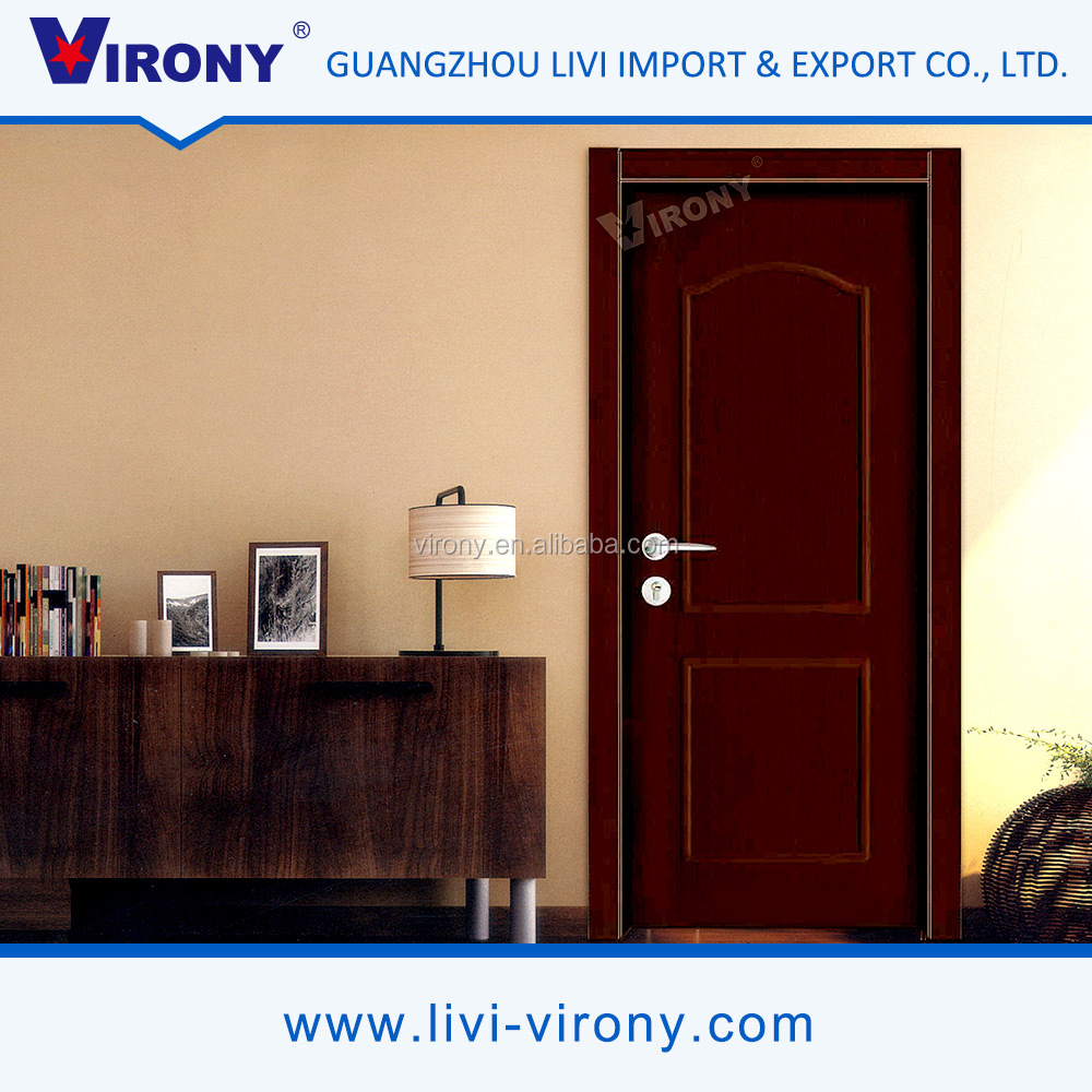Latest Design Virony Solid Interior Wooden Swing Doors Made In China