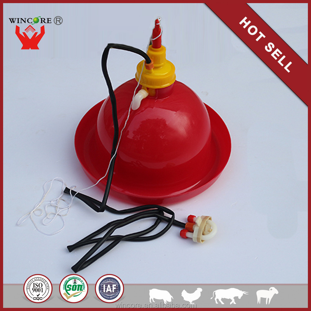 New Products for 2016 Eco-friendly Chicken Plasson Drinker For Broiler Farm