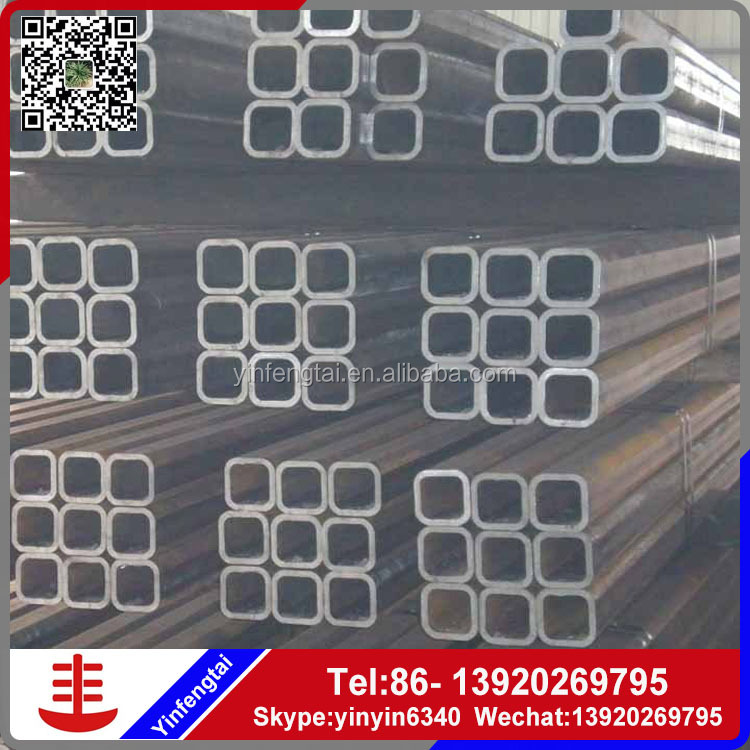 heavy wall square tube large diameter steel pipe ms erw welded pipe