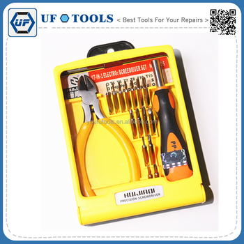 17 in 1 Premuim Multi - Functional Screwdriver Pincers Kit Household Tools for Computer Maintenance