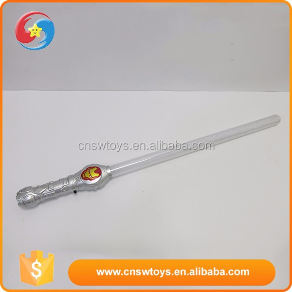Custom design love gift plastic boy first choice hot flashing sword