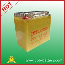 Acid-free Gel type 12V 9AH Motorcycle Battery With 1 year warranty