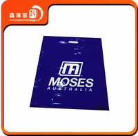 OEM laundry perforated shopping packaging plastic bag