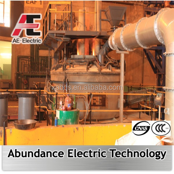 overseas steel EPC contractor of Electric arc smelting furnace EAF
