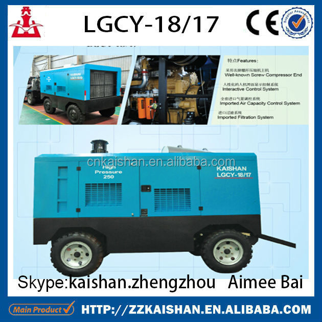 2015 rotary screw air compressor / reciprocating screw air compressor / portable screw air compressor on sale