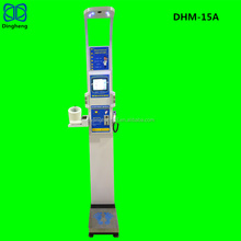 DHM-15A Digital Ultrasonic Weight and Height Scales with coin vending