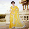 Wedding Special yellow saree
