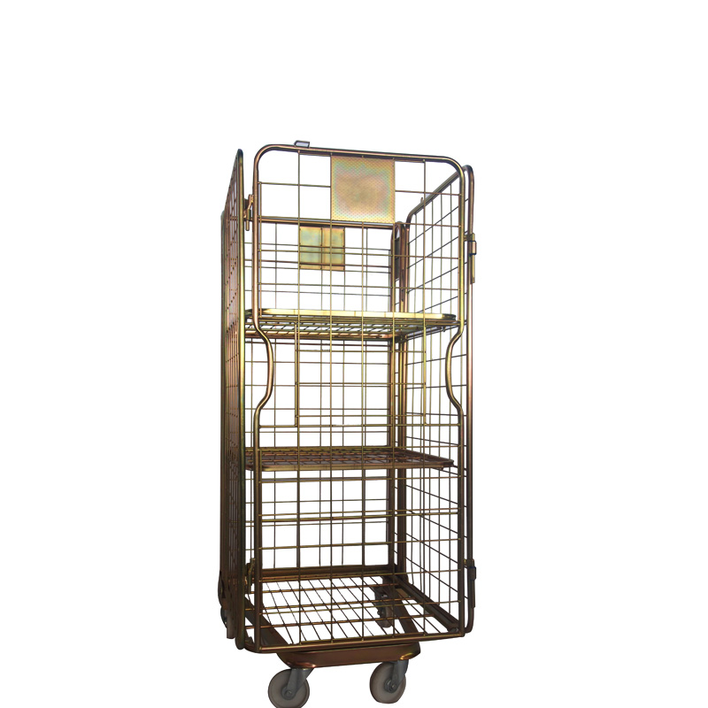 Hot sale warehouse metal wire storage cages