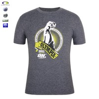 Best quality full hand custom muscle fit t-shirt for printing
