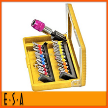 2015 best sale screwdriver set ,portable 21PCS drill bit SET, professional cordless screwdriverT18A077