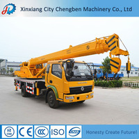 DONGFENG Construction 10 ton Hydraulic Crane Low price of mobile crane for sale