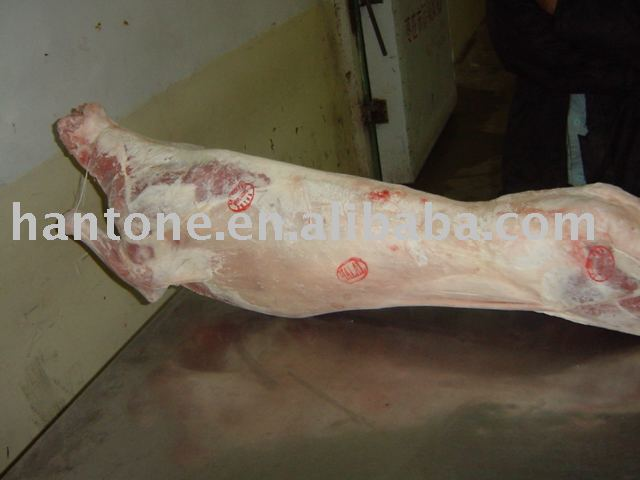 frozen halal lamb carcass