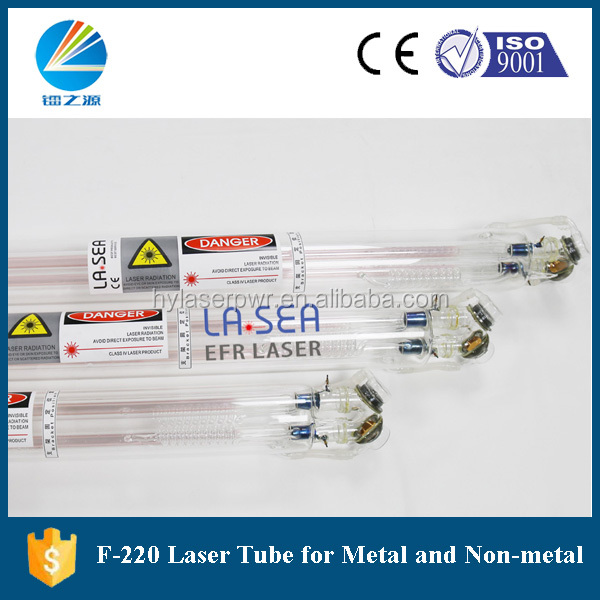 Beijing EFR 220-260W CO2 Glass Laser tube for Metal Laser Cutting Machine