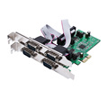 IOCREST AX99100chipset RS-232 db9 4-Port PCI Express Card support low profile bracket