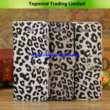 Topmind Leopard Print Leather Case for Apple iPhone 5C