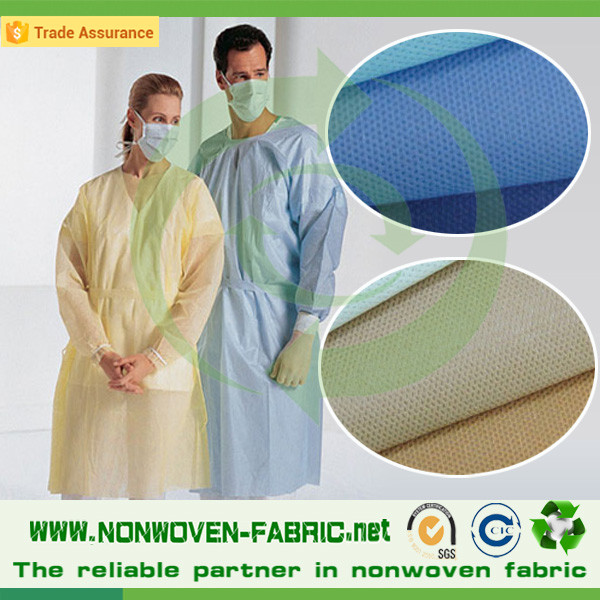 Biodegradable 100% PP Non-woven Fabric for Medical, Agriculture, Drawstring Bags