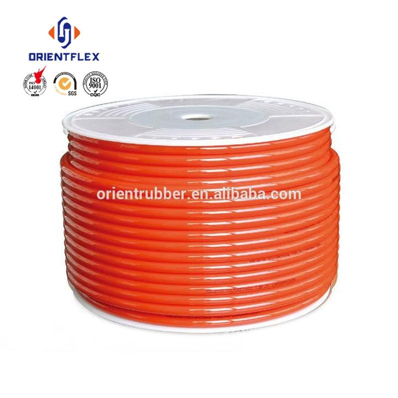Guaranteed quality thin flexible tensile strength mpa air conveying 8mm plastic tube Chinese manufacturer
