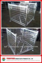 Heavy Duty Folding Wire Mesh Cage/Basket