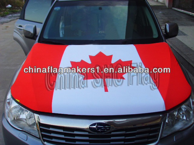 Custom car hood cover flag for BMW/BENZ/AUDI size
