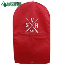 High quality reusable garment bag foldable non woven suit case cover