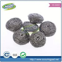 New style galvanized household stainless steel scourer cleaning ball