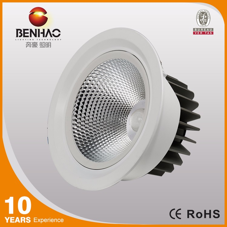 surface mounted applicability downlight indoor/outdoor cob driverless round led ceiling light recessed