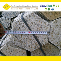 g682 hexagon Rusty granite pavers for sale, Granite types of paving stone