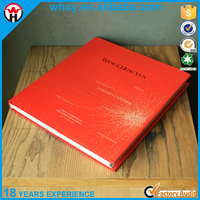 Cheap Custom Design Hardcover Book with Full Color Printing and High Quality