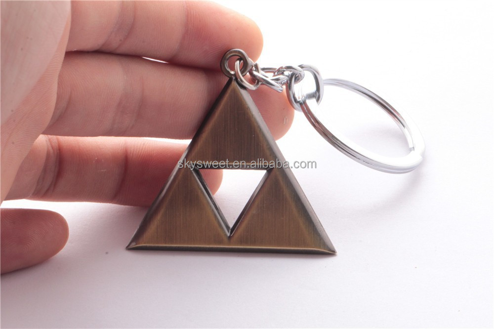 the Triforce keychain, the game The Legend of Zelda for Triforce of the Gods logo keyring(SWTMD1491)