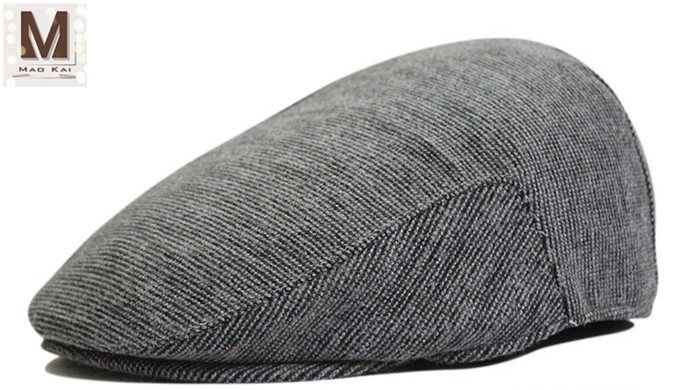 Cheap Stylish Unisex Autumn And Winter Beret Peaked Cap Hat