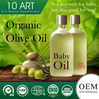 Mineral Oil Free Organic Pure Olive Oil for Baby Massage Oil