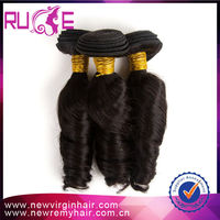 TOP SELLING!!!5A GRADE Free shiping Spring Curl 3pcs/lot 14 14 14 Malaysian automatic hair curler