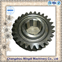 tricycle Differential Spur gear Parts/ Steel Small Pinion tactical gear reduction gear for electric motor