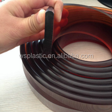 China guangzhou round rubber squeegee for silk screen printing ink