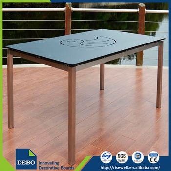 Wholesale china products restaurant hpl table top