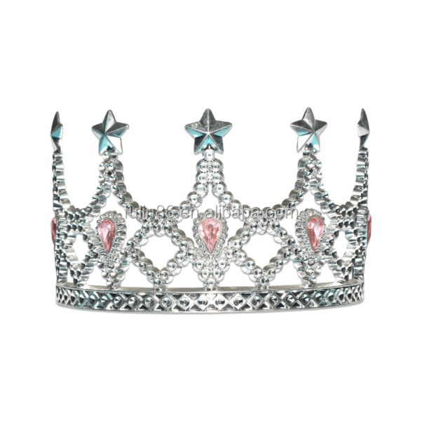 best sell birthday party tiara crown for girls ,wedding crown and tiara