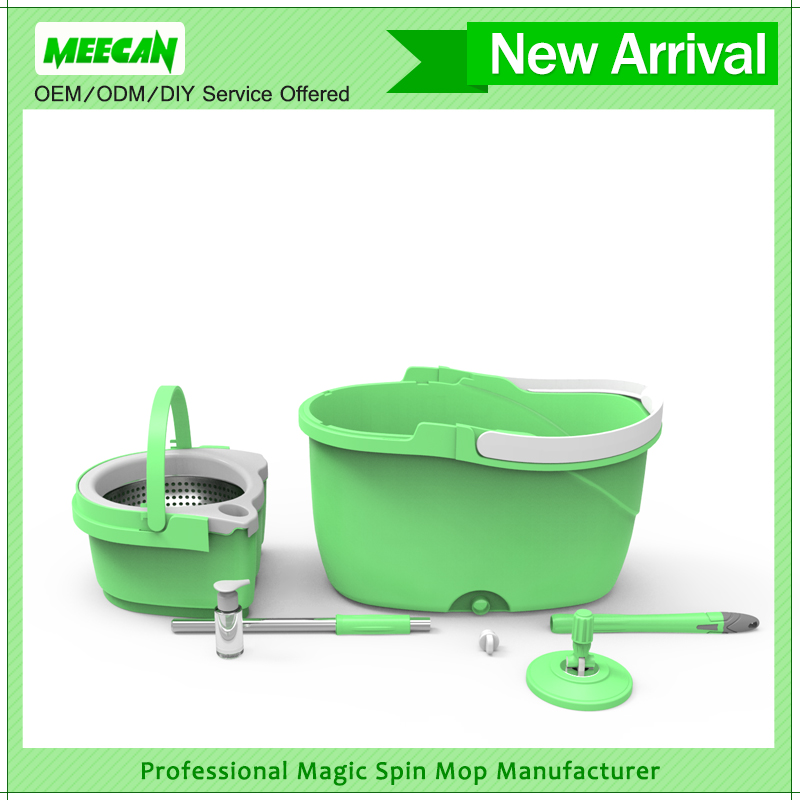 magic 360 spin mop reviews online hot selling with microfiber mop head