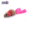 ecofriendly natural sisal cat toy mouse scratcher