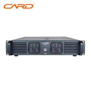 4*300watt amplifier with 4 channel of professional high powered amplifier system