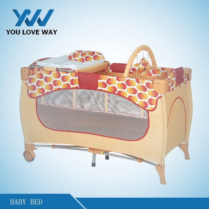 China supplier baby game bed