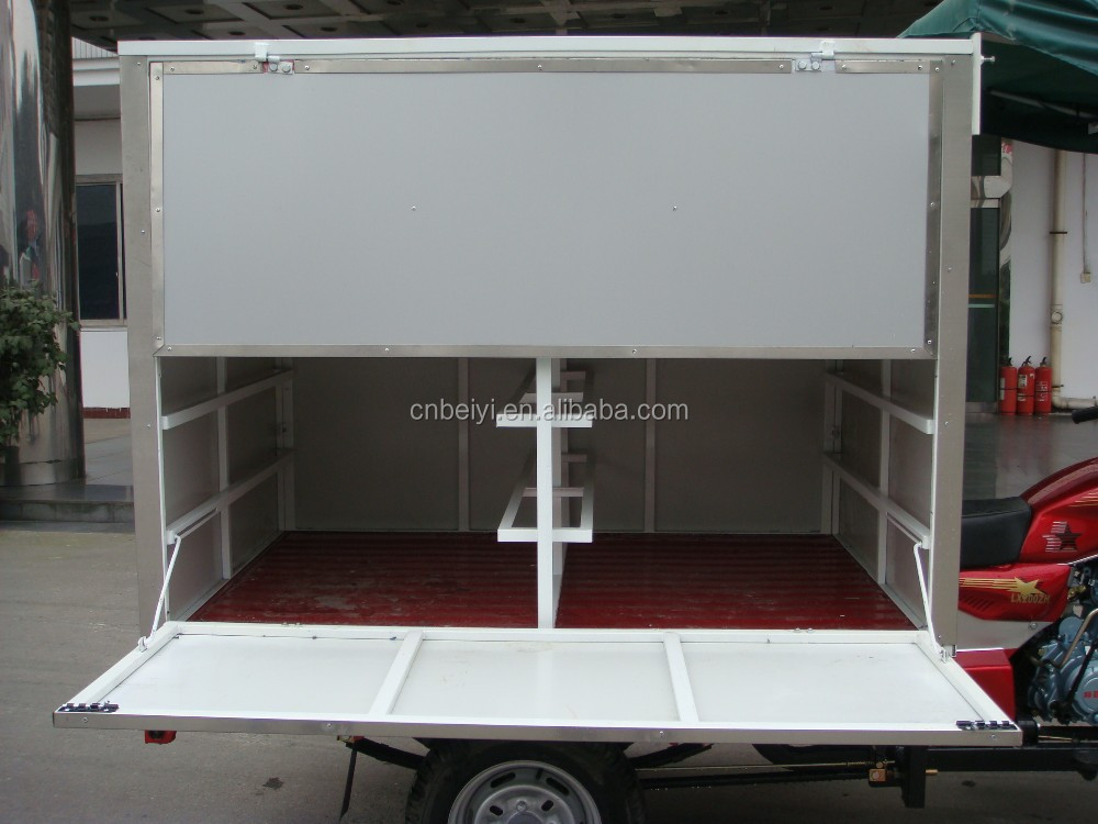 New Air Cooling Cargo Box Carriage Tricycle With CCC