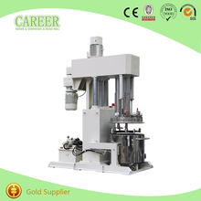 High Quality Paste Double Shaft Paddle Chemical Product Machine Double Planetary Mixer Factory