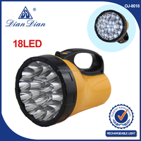 Super quality great material professional supplier flashlight led geepas torch light