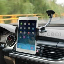 Car Tablet Holder With Dashboard Base Sticky Suction Cup for iPad