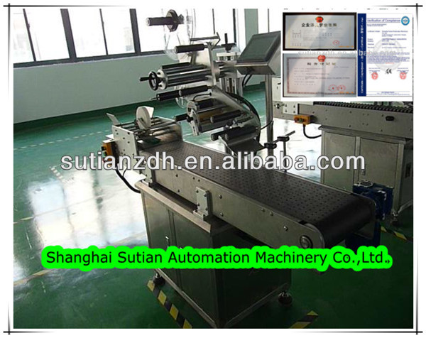 MT-60 automatic pagination adhesive sticking machine/paper pagination labeling machine/ card labeling machine