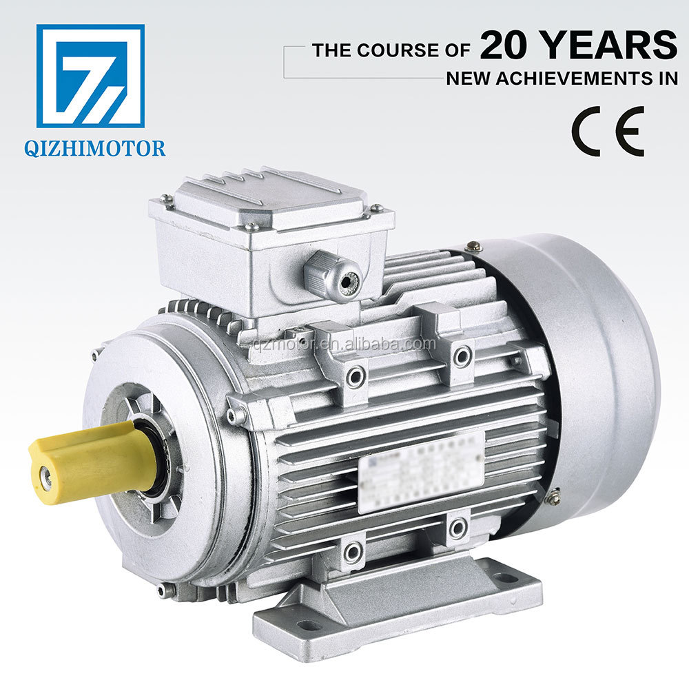 Alumninum YS series three phase asynchronous small electric 0.5 hp motor