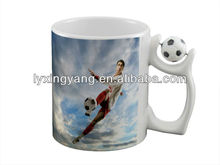 2014 ceramic drinking World cup brazil mug for promotion /mug cup anti-dumping duty17.6%