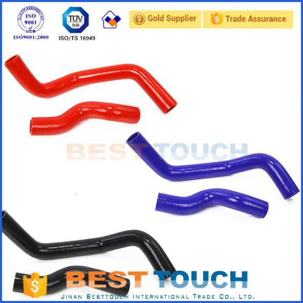 Car rubber pipe reducing elbow 45 degree high performance radiator hoses for RENAULT