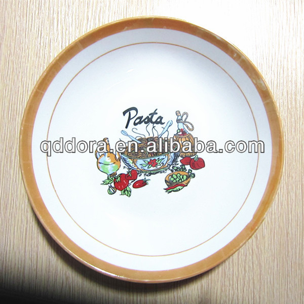 wholesale ceramic pizza plate & ceramic pizza plate wholesale_Yuanwenjun.com
