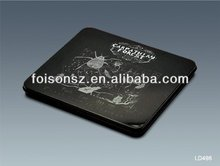 Black DVD tin bags for promotion